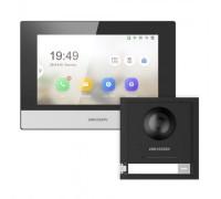 Комплект монитор + вызывная панель Hikvision  DS-KD8003-IME1