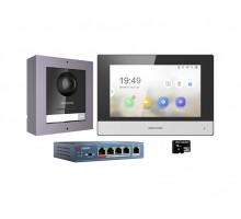 Комплект видеодомофона Hikvision DS-KIS602