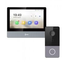 Комплект монитор + вызывная панель DS-KV6113-WPE1