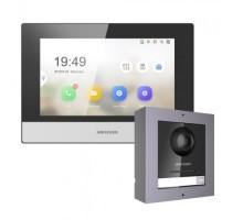 Комплект монитор + вызывная панель Hikvision DS-KD8003-IME1/Surface