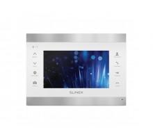 Видеодомофон Slinex SL-07IP (серебро + белый)