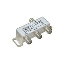 Делитель (сплиттер) ТВ сигнала 1 вход / 3 выхода