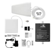 Комплект для усиления сигнала сотовой связи Titan-1800/2100/2600 PRO