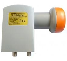 GoldMaster GM-122CR, twin круговой Ku конвертер