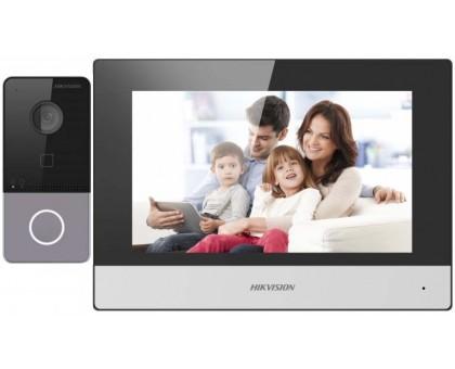 Комплект видеодомофона Hikvision DS-KIS603-P